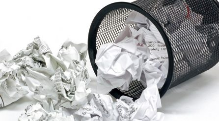 Commercially Valuable Bioproducts from Waste Paper