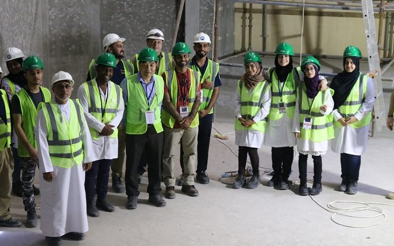 MSF Students Visit Oman Aquarium Project