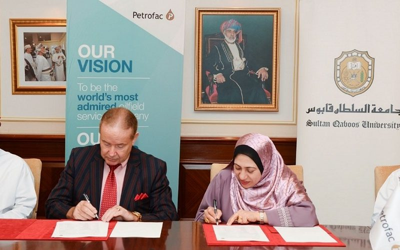 SQU and Petrofac sign Sponsorship Agreement