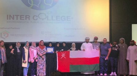 Public Speaking Contest: Student Teams Win Third Place
