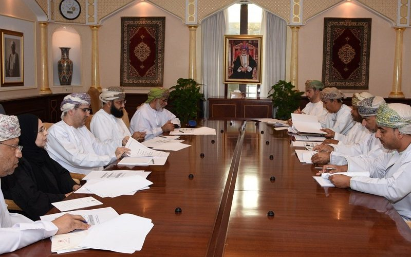 SQU-Institute of Public Admn. Committee Meets