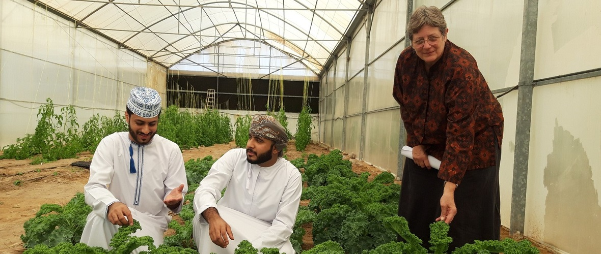 SQU's Organic Kale Sets an Example