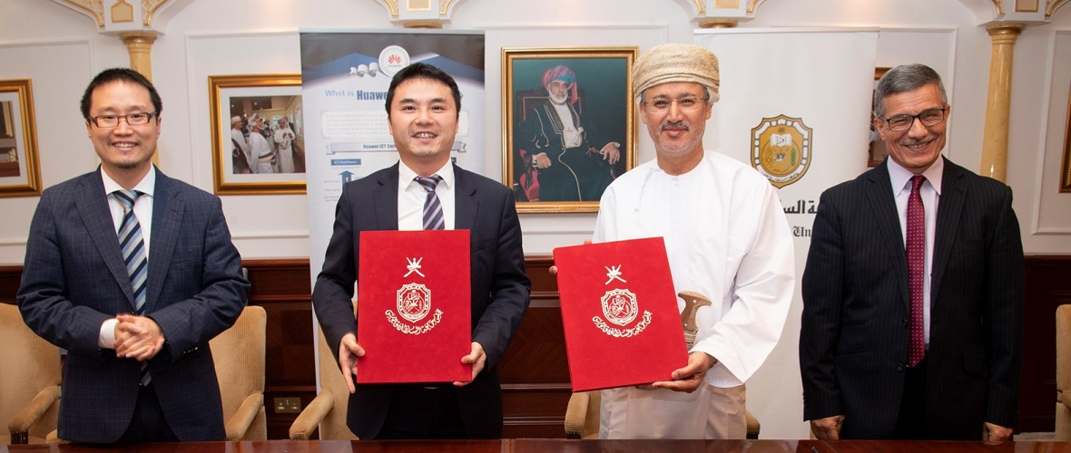 ICT Technologies: SQU, Huawei Sign Letter of Agreement