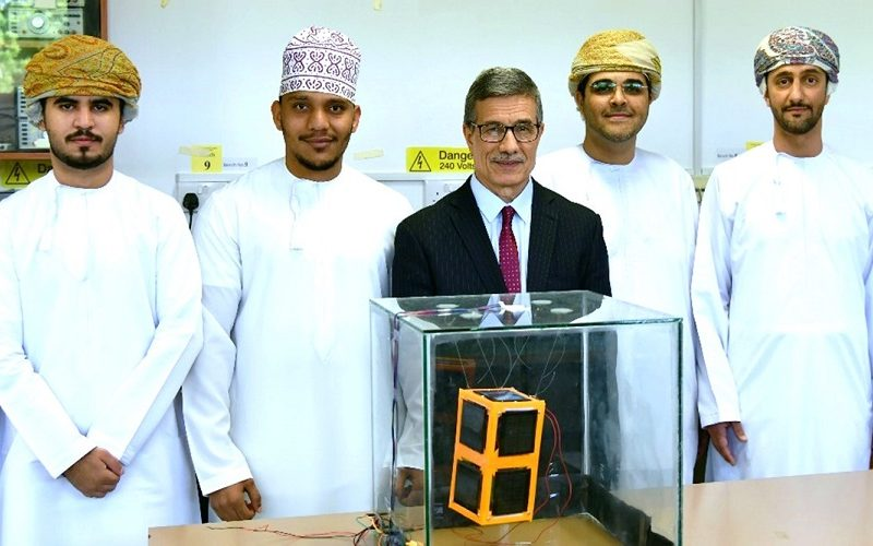 Oman's First CubeSat Project at SQU