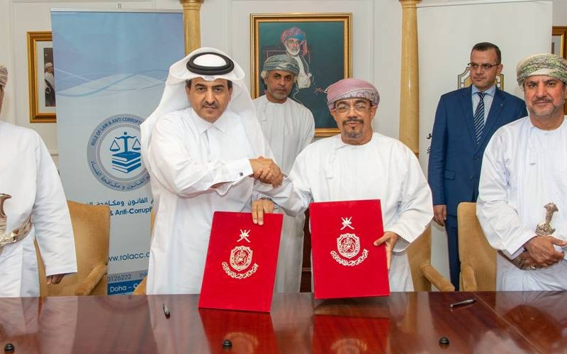 SQU, ROLACC Sign Agreement to Set up Anti-corruption Chair
