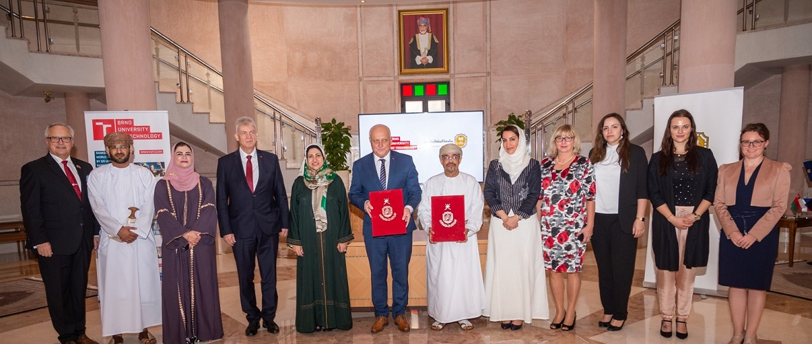 SQU, Brno University of Technology to Tie-up on Teaching and Research