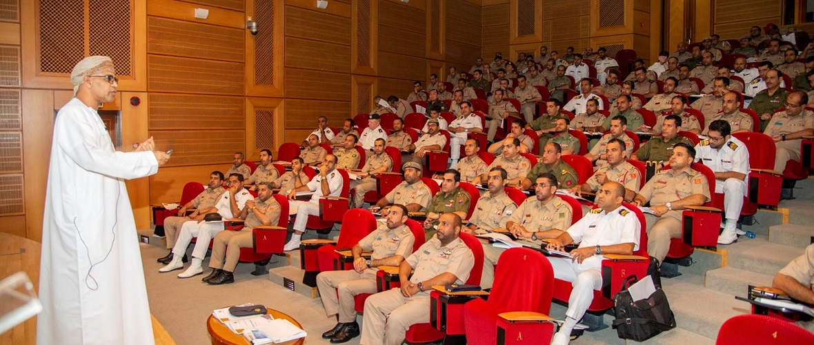 SQU Provides Course to Military Officers