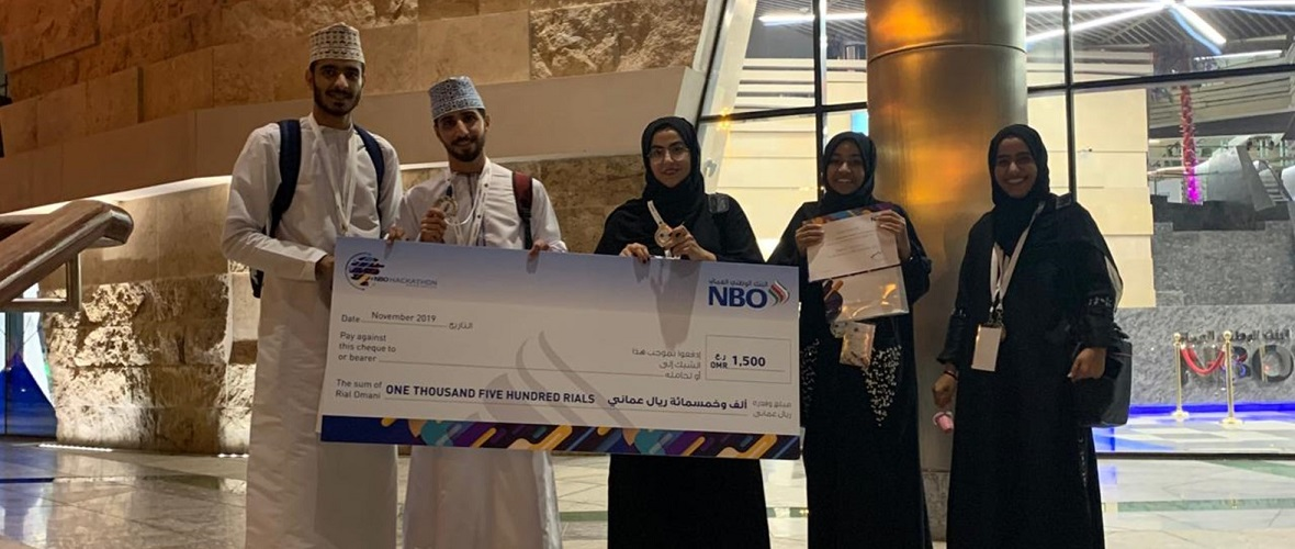 SQU Team Bags Second Prize in Hackathon Competition